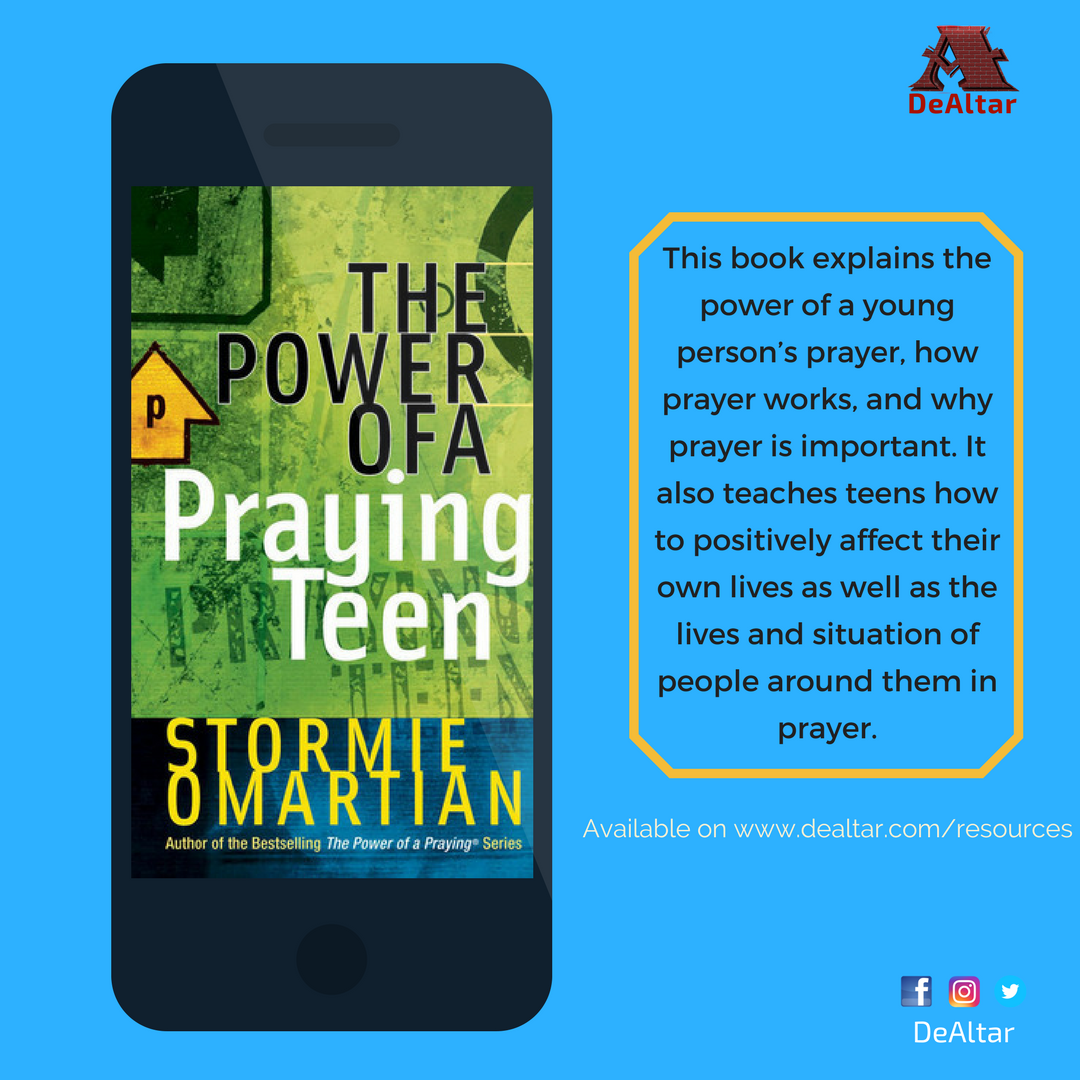 The Power of A Praying Teen by Stormie Omartian {Ebook}