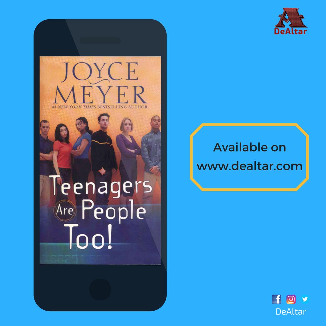 Teenagers are People too by Joyce Meyer {EBook}