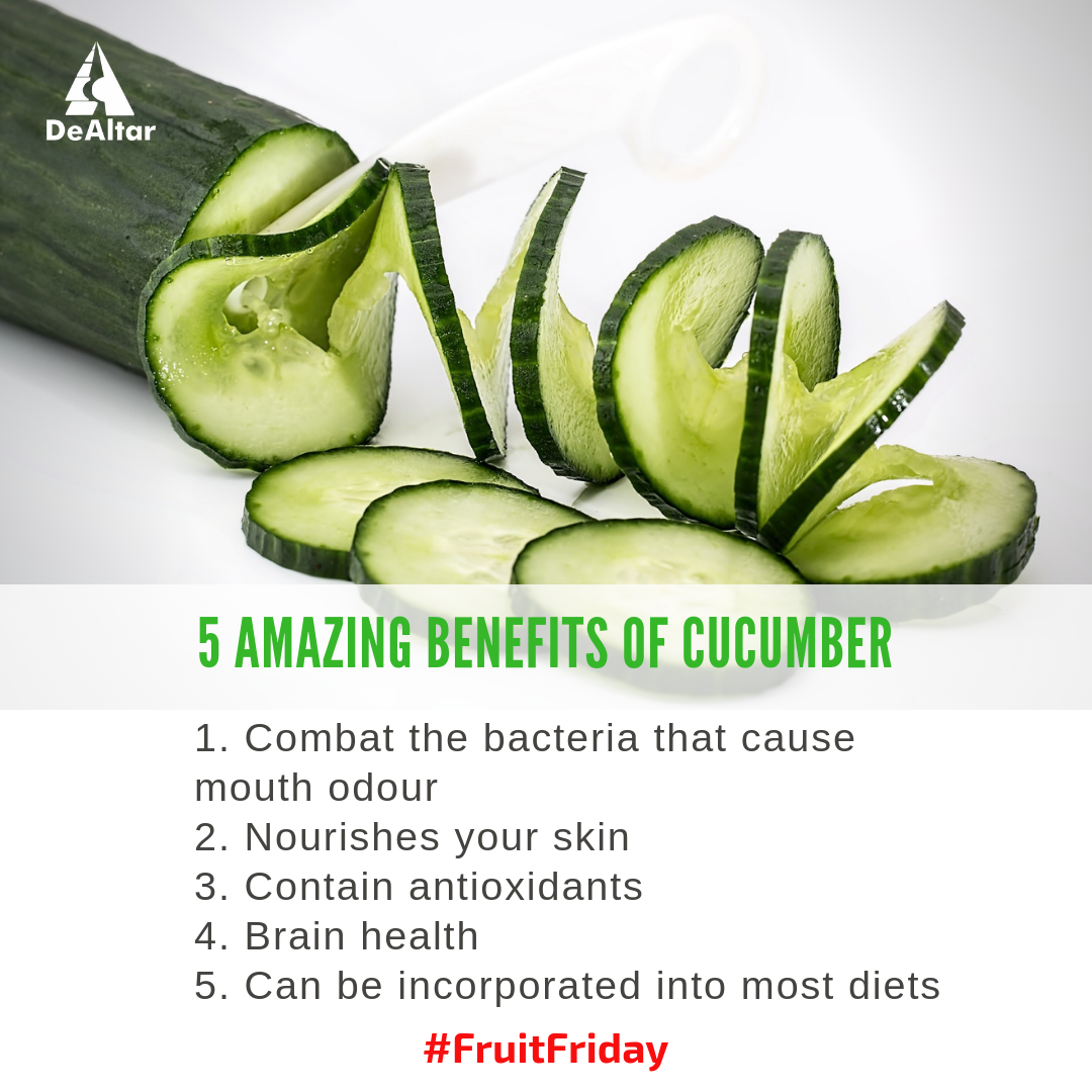 5 Amazing Benefits Of Cucumber
